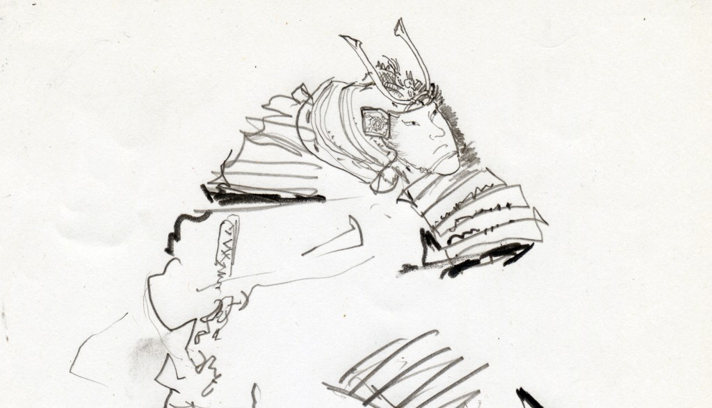 1405北斎鉛筆2
